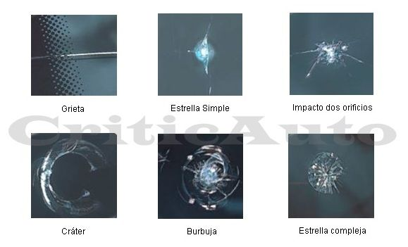 Tipos de daños en la luna parabrisas.001