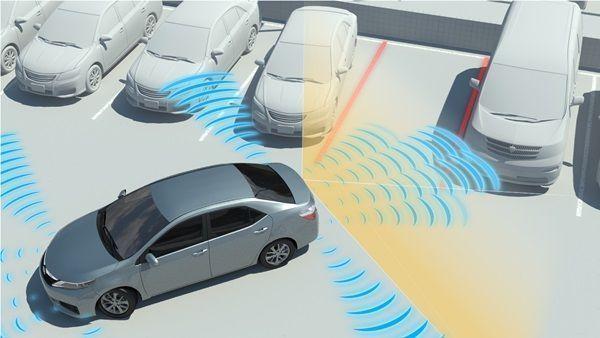 Toyota lanzará nuevos dispositivos de sensores de aparcamiento001