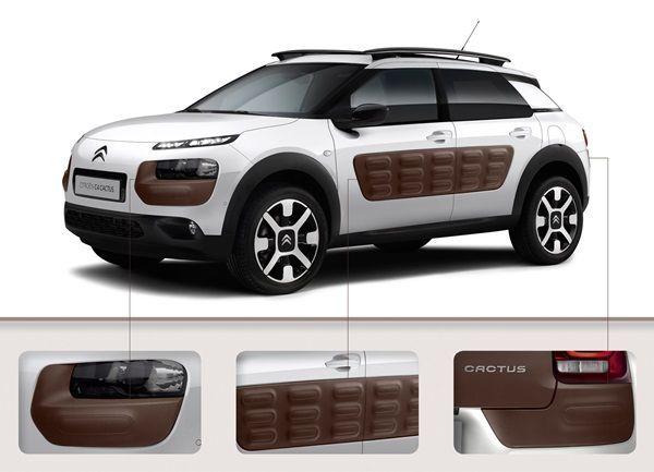 Citroën Cactus y sus novedosos paragolpes.002