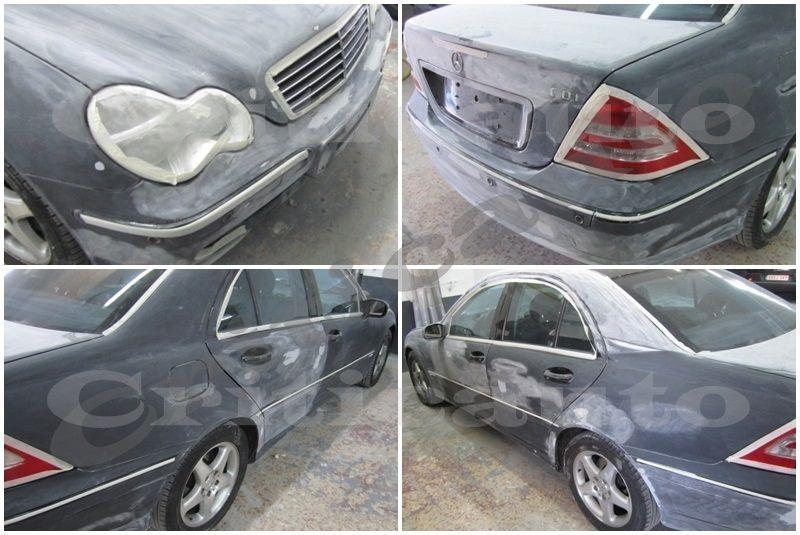 ¿Es importante desmontar para pintar un coche?.002