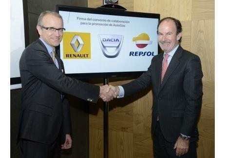 Acuerdo Renault y Repsol para incentivar la venta de vehículos GLP.002