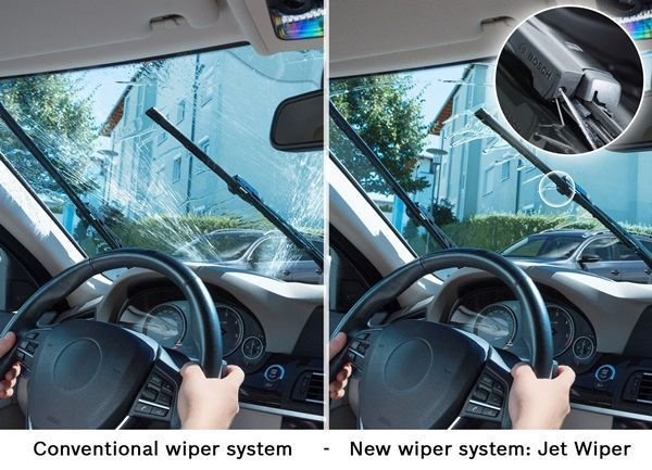 Escobillas limpiaparabrisas inteligentes para el Volvo XC90001