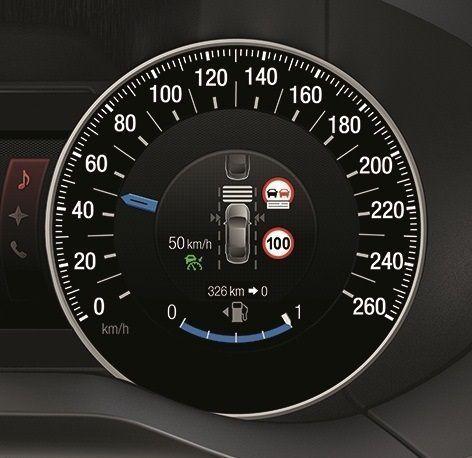 Nueva tecnologia de Ford para no superar los límites de velocidad.002