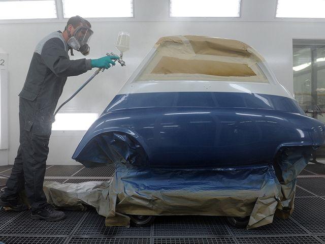 Pintar coche: ¿mejor en un concesionario o en taller multimarca?.002