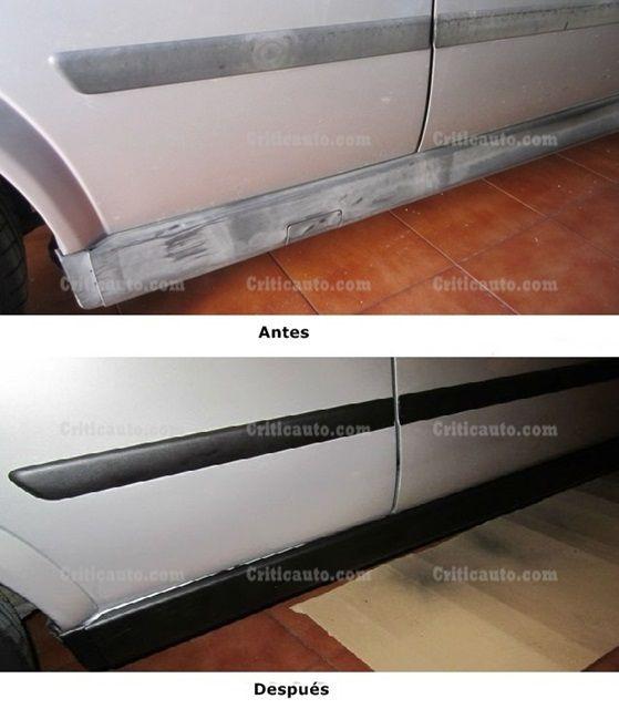 Cómo reparar las molduras de tu coche (parte II).001