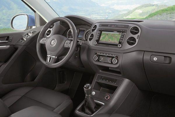 Nuevos motores y sistemas de radio-navegación para el Volkswagen Tiguan.001