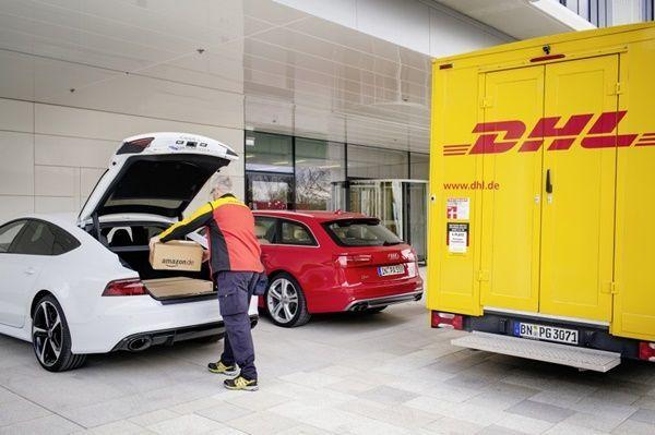 Proyecto piloto entre Audi, DHL y Amazon para entregar paquetes en el maletero de tu coche001