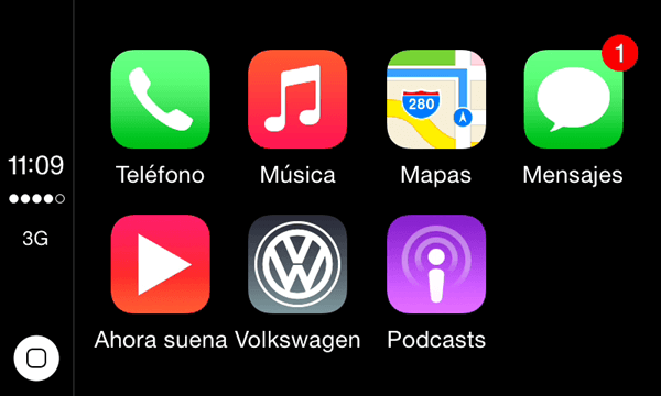 Apple CarPlay y Android Auto se incorporan al servicio CarNet App-Connect de Volkswagen.004