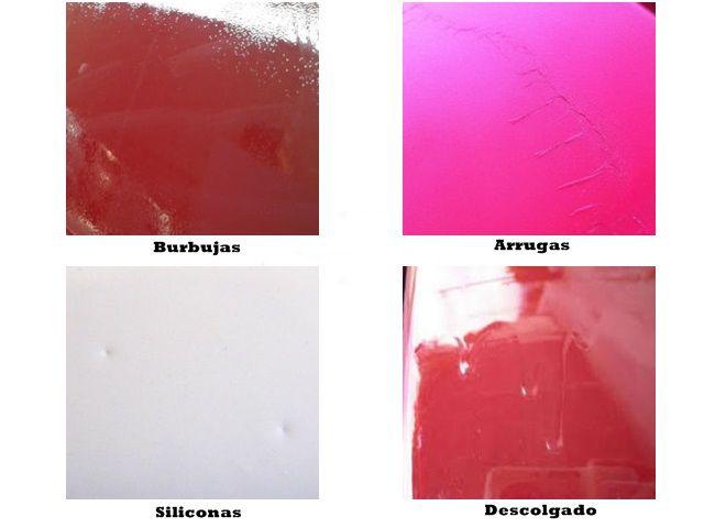 Defectos de pintura en el pintado de automóviles.001