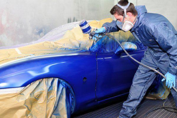 Diferencia de tonalidad al pintar el coche001