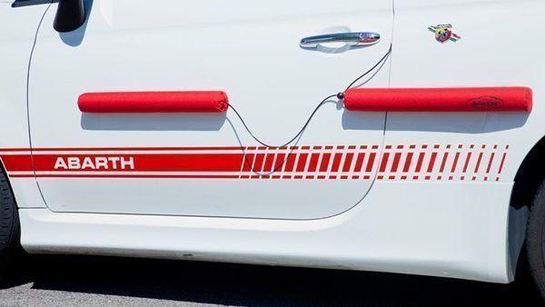 Nuevo protector de puertas de automóviles de quita y pon010