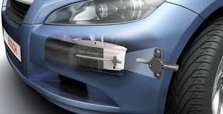 Reparar un paragolpes con sensor de peatones, cuidado002